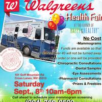 Walgreens Health Event