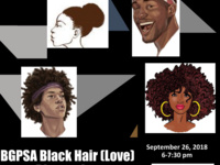 "BGPSA General Body Meeting ""Black Hair [Love]"""