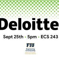 Deloitte Information Session