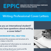 Writing Professional Cover Letters
