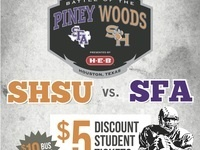 Battle of the Piney Woods Student Tickets