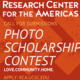 Second Annual Photo Scholarship Contest: Love, Community, & Home