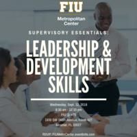 Supervisory Essentials: Leadership and Development Skills