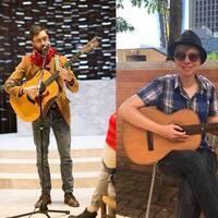 Artists Beyond the Desk - Hilltop Sunset & Hedge Bjorn in Concert