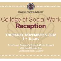 College of Social Work Orlando Reception