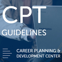 Curricular Practical Training Guidelines (CPT) - Career Series for International Students