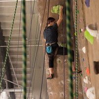 Lead Climbing in the Gym Winter 2020