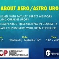 All About Aero/Astro UROPs