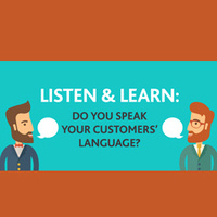 Speaking Your Customer's Language (CSAC01-0036)