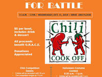 EMSE Chili Cook Off & Halloween Costume Contest