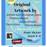 Artober Exhibits at Hull Street Library