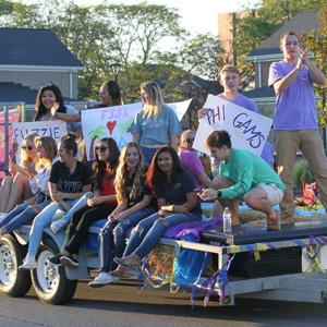 Homecoming Parade Float Registration