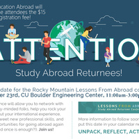 Lessons From Abroad Returnee Conference