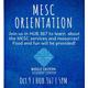 MESC Orientation