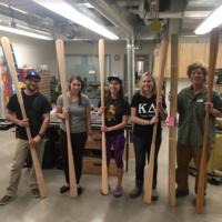 Kayak Paddle-Making Class