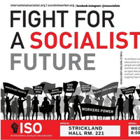 The Fight For A Socialist Future!
