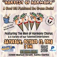 Harvest of Harmony - A Capella Harmony Show & Ice Cream Social