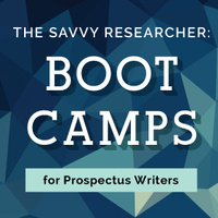 The Savvy Researcher: Boot Camp for Dissertation Writers