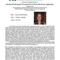 MME Graduate Seminar Series: Dr. Daniela Radu