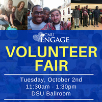 CNU's 11th Annual Volunteer Fair