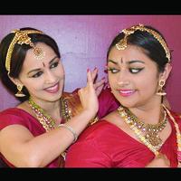 """The Curious Curators"" - A  Bharatanatyam Dance Duet"