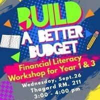 Build a Better Budget Workshop