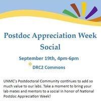 Postdoc Appreciation Week Social