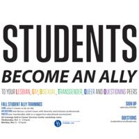 Student LGBTQ+ Ally Training