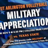 UTA Volleyball vs Texas State