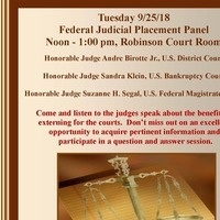 Federal Judicial Placement Panel