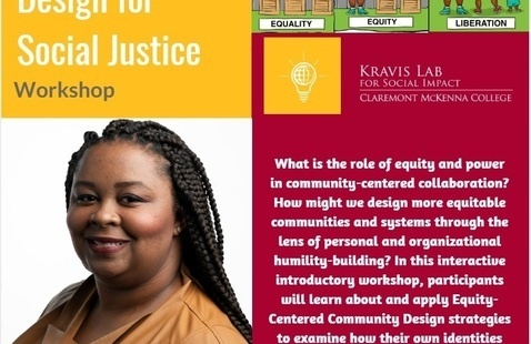 Equity-Centered Design for Social Justice Workshop