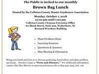 COLLETON COUNTY CLEMSON EXTENSION'S BROWN BAG LUNCH