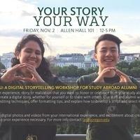 A Digital Storytelling Workshop for Study Abroad Alumni