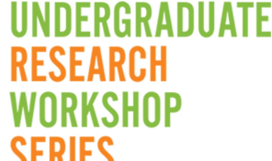 Summer Undergraduate Research Fellowship (SURF) Workshop