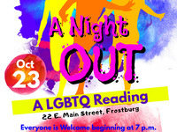 A Night OUT: A LGBTQ Reading