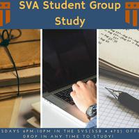 SVA Tuesday Study Session