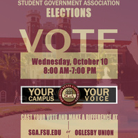 SGA Elections Candidate Filing Deadline