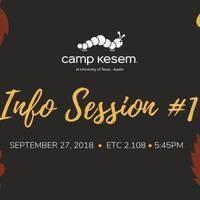 Camp Kesem Info Session #1