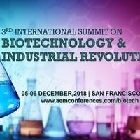 3rd International Summit on Biotechnology & Industrial Revolution