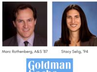 A&S Career Conversation - Marc Rothenberg '87 & Stacy Selig '94 | Managing Directors @ Goldman Sachs