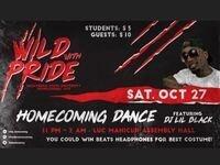 "Frostburg State University Homecoming ""One Wild Night"" Halloween Dance featuring DJ Lil Black"