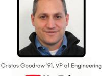 Career Conversation - Cristos Goodrow '91, Vice President of Engineering at YouTube