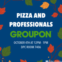 Center for Sales Leadership Pizza and Professionals with Groupon