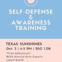 Texas Sunshines Presents: Self Defense and Awareness Training