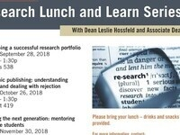 CBSHS Research Lunch and Learn: Academic publishing: understanding impact and dealing with rejection