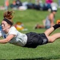 Women's Ultimate Frisbee Club Practice