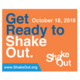 The Great ShakeOut Earthquake Drill Booth!