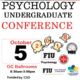 FIU Psychology Undergraduate Student Conference (PSYCH-CON)