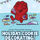 Tiny Tritons Holiday Cookie Decorating