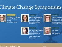 Berger Current Events Fall Colloquium: Climate Change Symposium